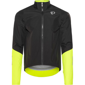 PEARL iZUMi Pro Pursuit WxB Softshell Jacket Herren black/screaming yellow